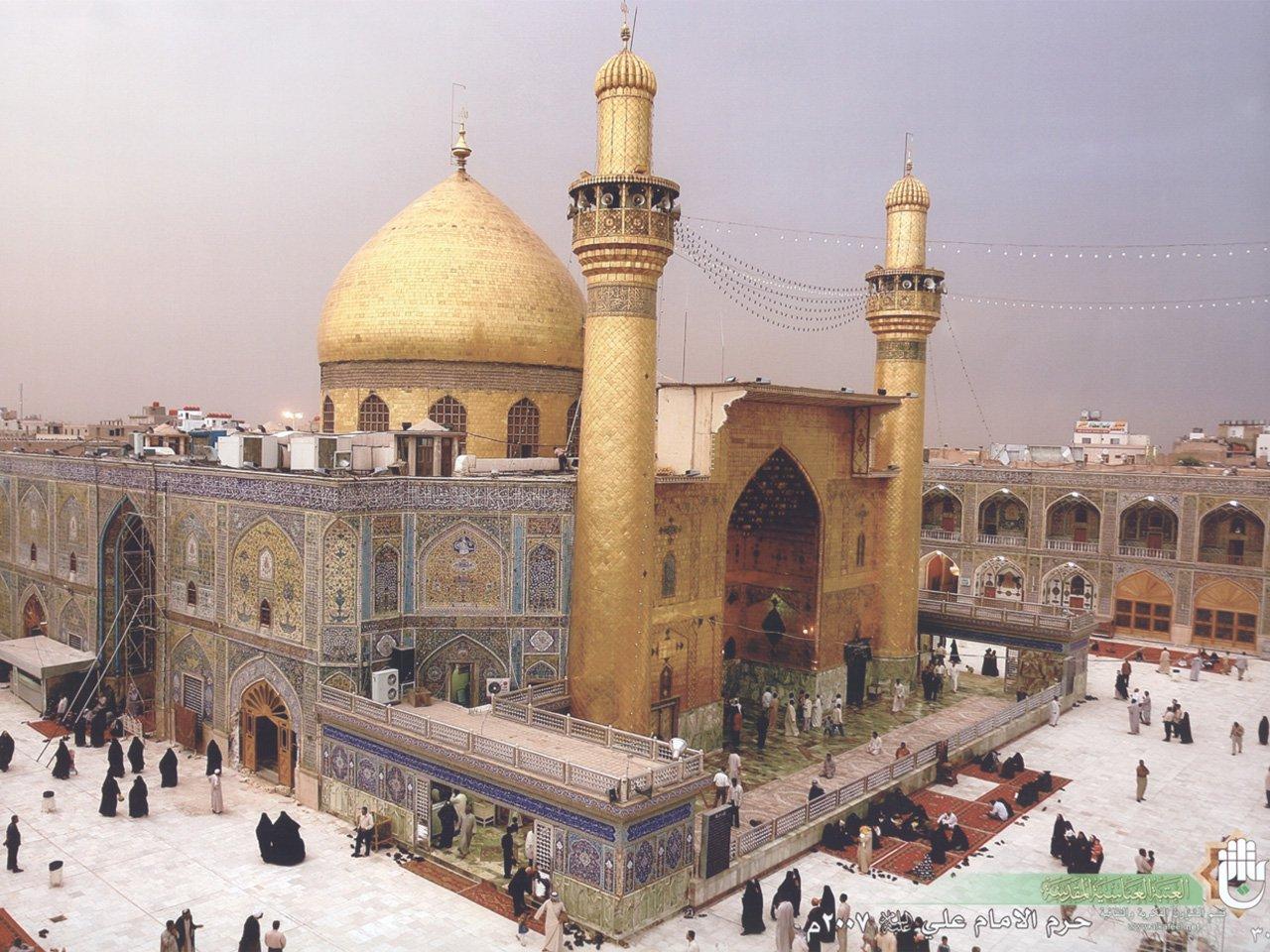 Maula Ali Shrine Wallpaper: Shrine Of Hazrat Imam Ali (a.s)